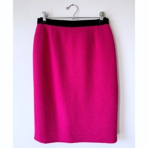 Escada 👑 Margaretha Ley VTG Wool & Velvet Skirt